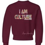 Kids International Crewneck Sweatshirt Burgundy