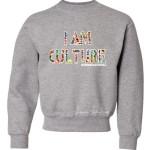 Kids International Crewneck Sweatshirt Grey