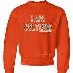Kids International Crewneck Sweatshirt Orange