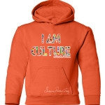 Kids International Orange Hoodie