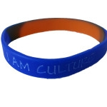 blue orange wristband