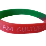 red green wristband