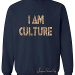 Gold Navy Sweater