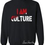 Red-White Black Sweater