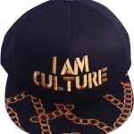 Black | Gold Snapback [Top View]