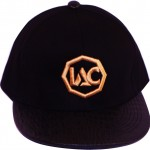 Black | Black | Gold Strapback [Top View]