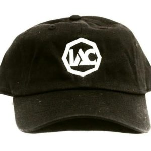 Black | White Baseball Cap [Front View]