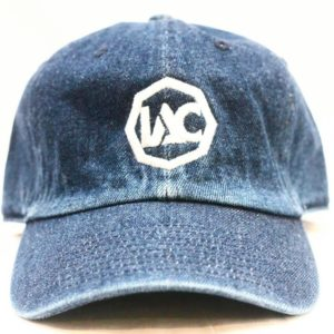Royal Blue | White Baseball Cap [Front View]